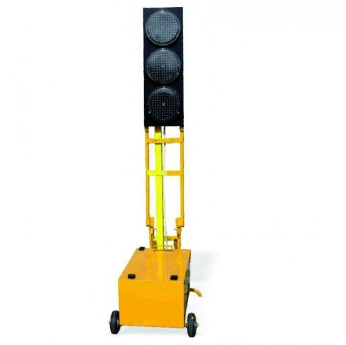 LED - diódová prenosná súprava semafórov
